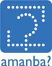 『amanba』ロゴ