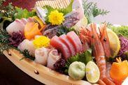 地元愛知師崎、長崎五島など全国から仕入れる鮮魚