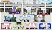 バーチャル世界留学フェア ブース一覧画面