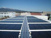 植松グループ太陽光発電展示場