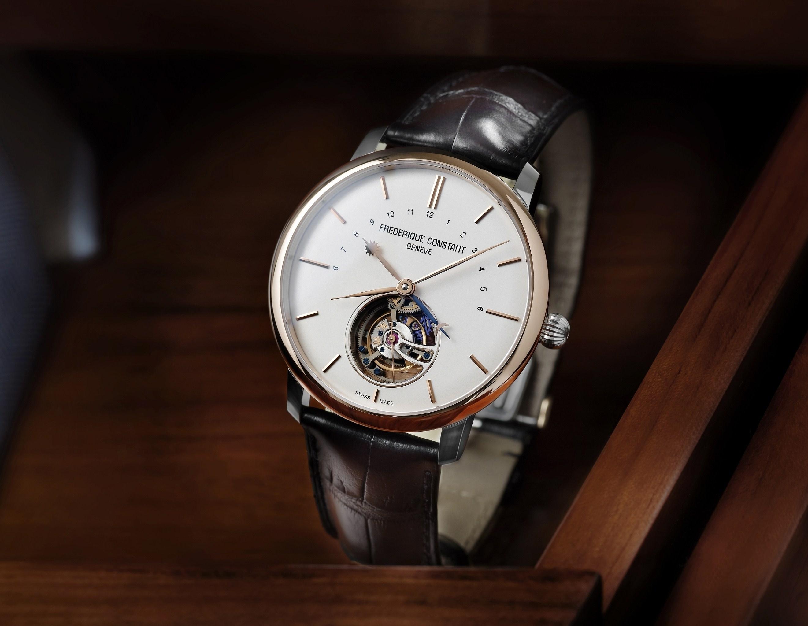 <世界188本限定生産>スイス製本格機械式時計ブランド「フレデリック・コンスタント」が薄型・自社製トゥールビヨン搭載の新作モデル限定発売