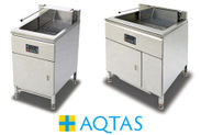 水循環式電気フライヤー「AQTAS」