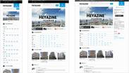 「HEYAZINE」トップページ画像