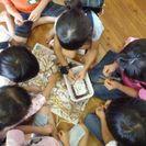 小豆収穫・山梨幼児園