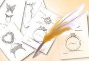 専属のデザイナーが無料でデザイン画を提案