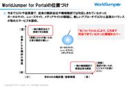 WJ for Portalの位置づけ