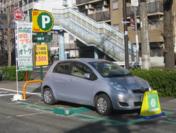 「カレコ」×「三井のリパーク」リパーク上馬駐車場