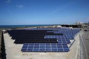 検証用太陽光発電所全景