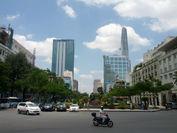 ベトナムホーチミン市の街並み1