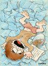 「男おいどん」漫画表紙絵原画