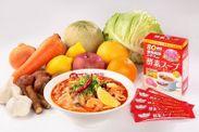「太陽のトムヤムトマト美麺 withドクターシーラボ」&ドクターシーラボ「酵素スープ」