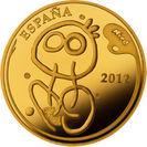 400ユーロ金貨 裏面