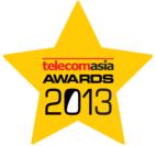 Telecom Asia Awards 2013 ロゴ