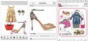 『iQON』コーディネートイメージ