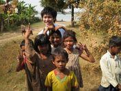 カンボジア支援での子供達