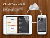 iCloudを介したデバイス間の同期