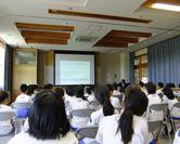 柳田小での情報モラル授業