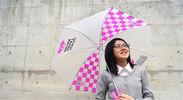 「ゆるや傘(ゆるやかさ)」で全国一斉傘開き