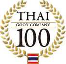 『THAI GOOD COMPANY 100』新ロゴ