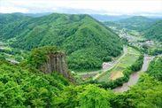 馬仙峡からの絶景