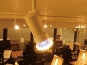 独自の放熱技術でランプの輝きを再現