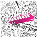 ポップアップ・ショップのロゴ(デザイン Chocomoo)