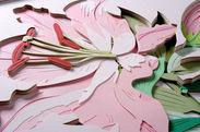 彫紙アートイメージ画像
