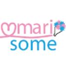 「marisome」ロゴ