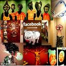 例:Facebook社オフィスのアート