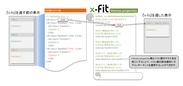 x-fit Ver2.0の新機能