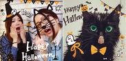 PopCam『Happy Halloween』スタンプ使用例