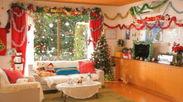 キレイなお部屋にキレイな飾り付けをして楽しいクリスマスモードに