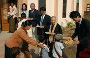 ミャンマー寺子屋教育の支援