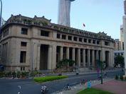 歴史ある金融機関の建物