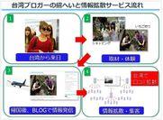 台湾ブロガーの招へいと情報拡散サービスの流れ