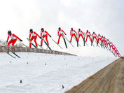 加工例3:スキージャンプ