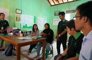 農村部におけるモバイルバンキング事業に取り組む社会的企業に留職