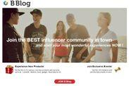 B Blog top