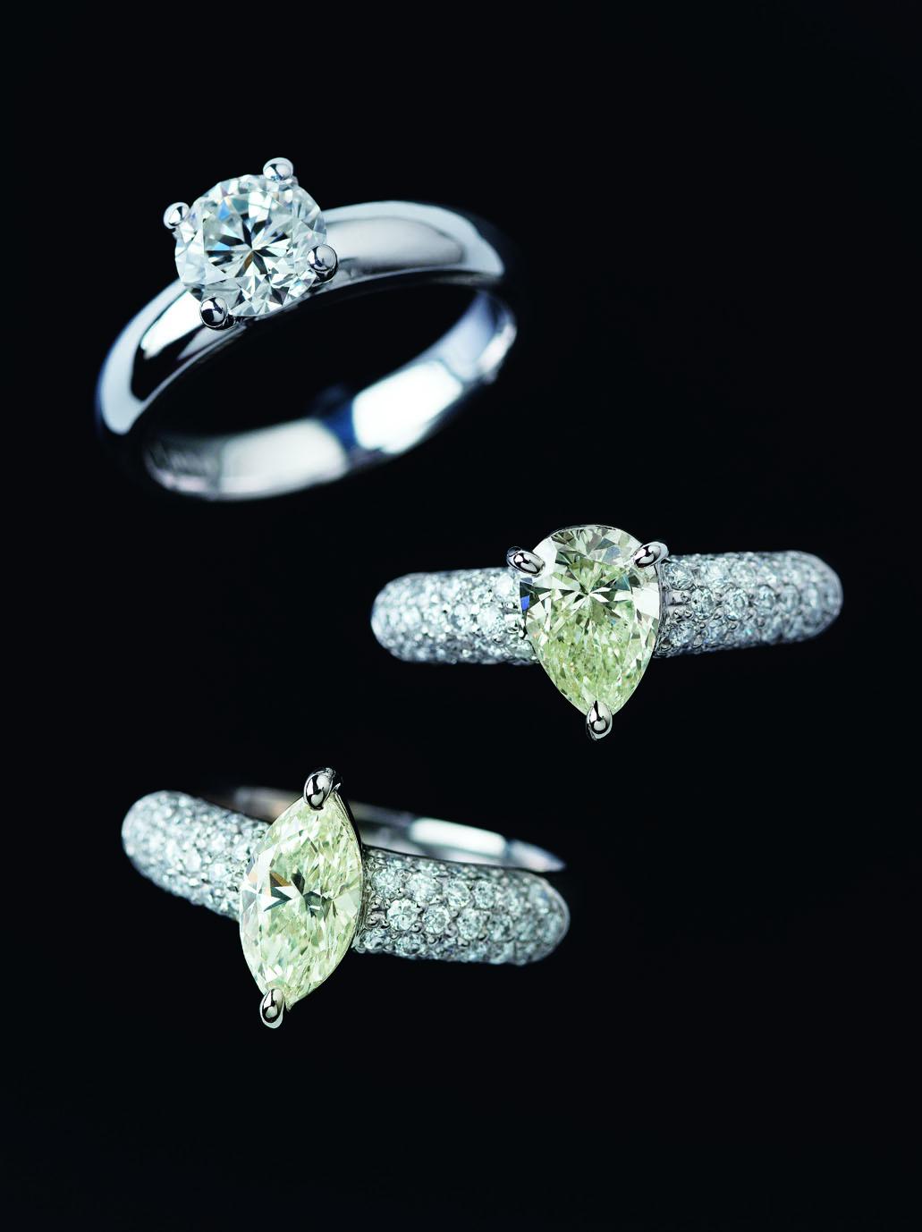 1ct以上の厳選ダイヤモンド