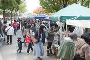 湊川公園手しごと市 会場風景
