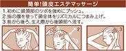 簡単!頭皮エステマッサージ(図)