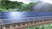 分譲型産業用太陽光発電システムのイメージ