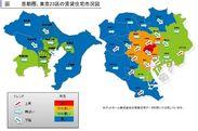 1都3県賃貸住宅市況図