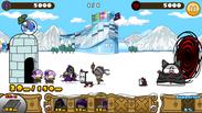 ゲーム画面「冬季スノリンピック」