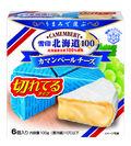 『雪印北海道100 カマンベールチーズ 切れてるタイプ』