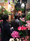 2013年バレンタイン当日の店舗の様子