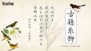 古籍糸柳(こせきいとやなぎ)