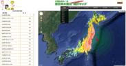 東日本大震災 統計マップ