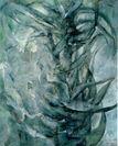 東千賀「火焔樹ー百骨樹III」