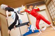 撮影:MILK コスプレイヤー:烏賊太郎&石子&佐吉 原作:銀魂